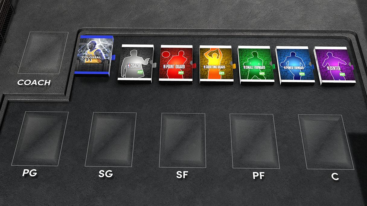 NBA 2K22 MyTEAM Draft Colossal Pack