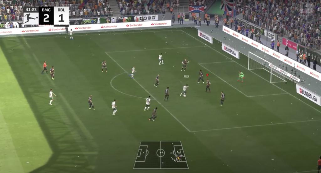 FIFA 22 backline depth issues