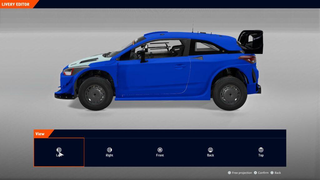 WRC 10 livery creator