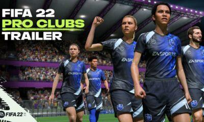 fifa 22 pro clubs trailer