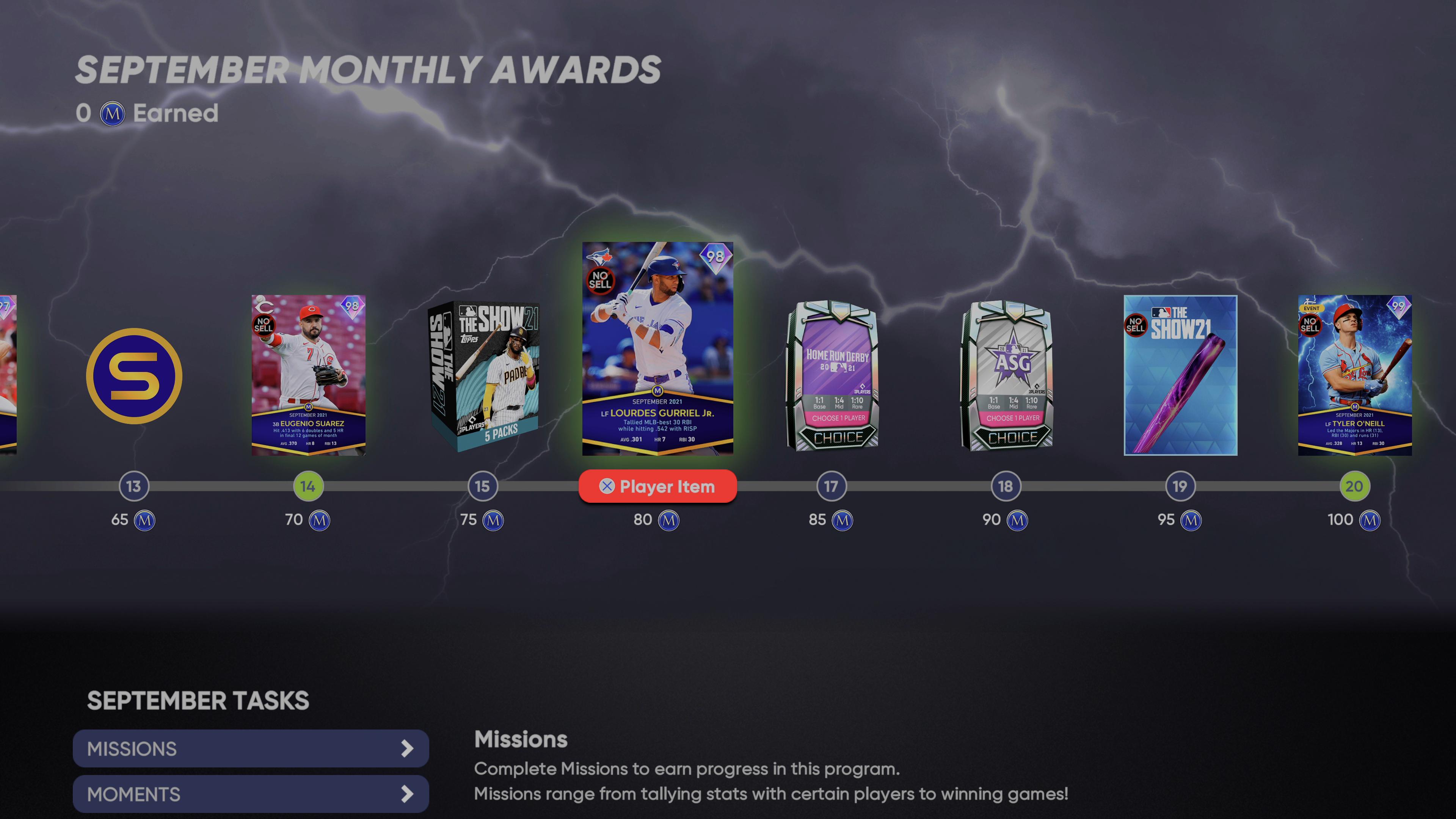 MLB The Show 21 - September Monthly Awards Program_2021-10-05_15-50-37