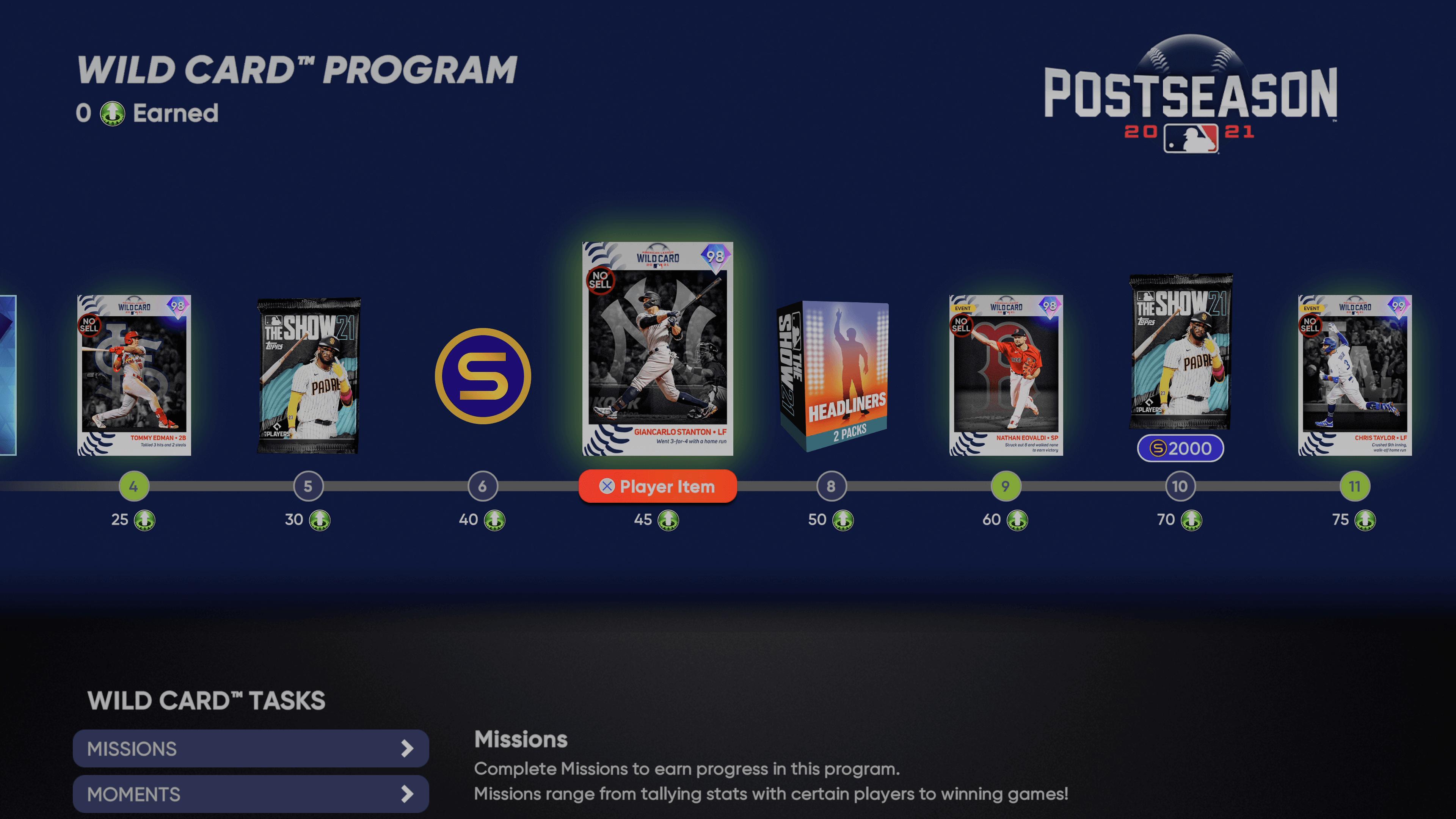 MLB The Show 21 - Wild Card Postseason Program_2021-10-08_15-07-41