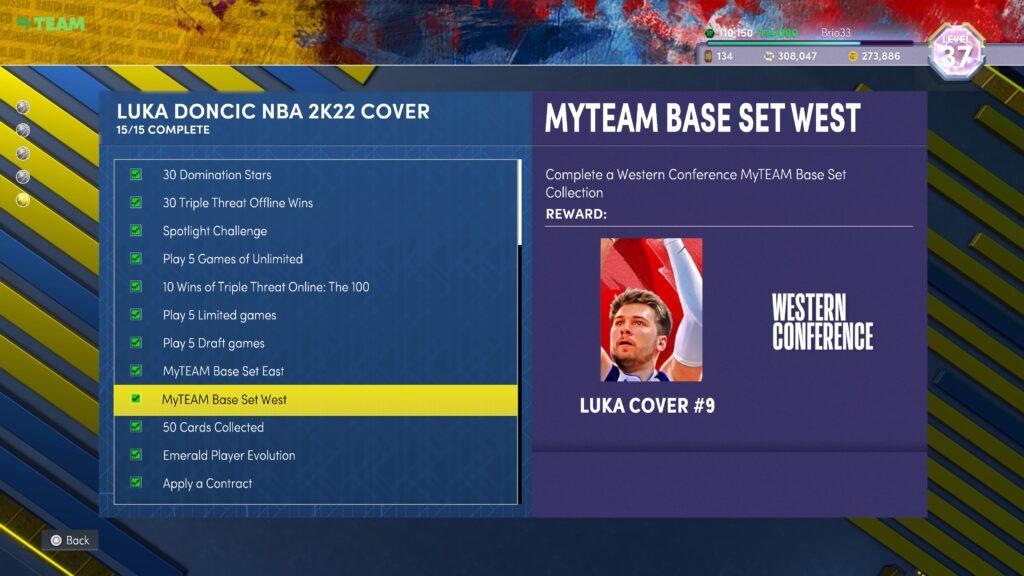 NBA 2K22 Lifetime Agenda
