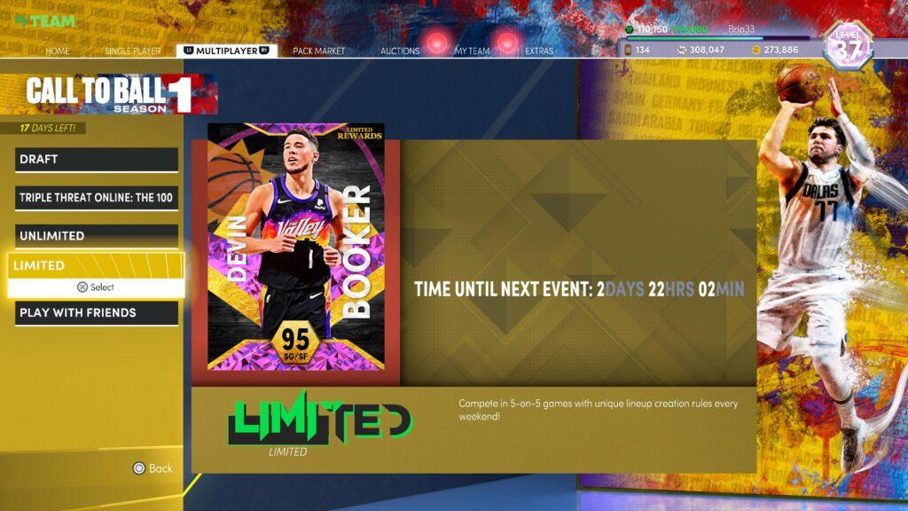 NBA 2K22 myteam online