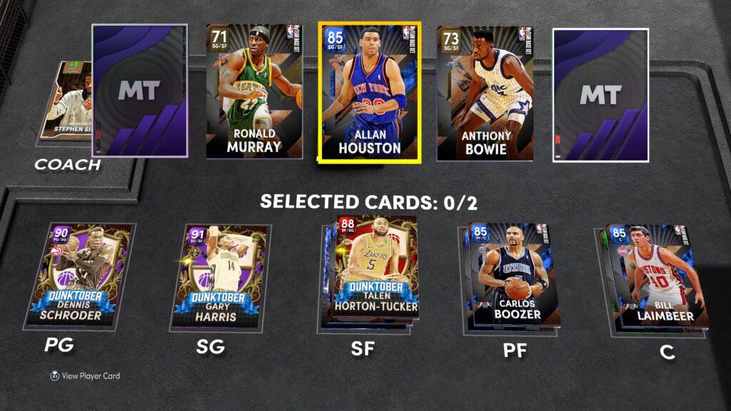 NBA 2K22 MyTeam Draft Review
