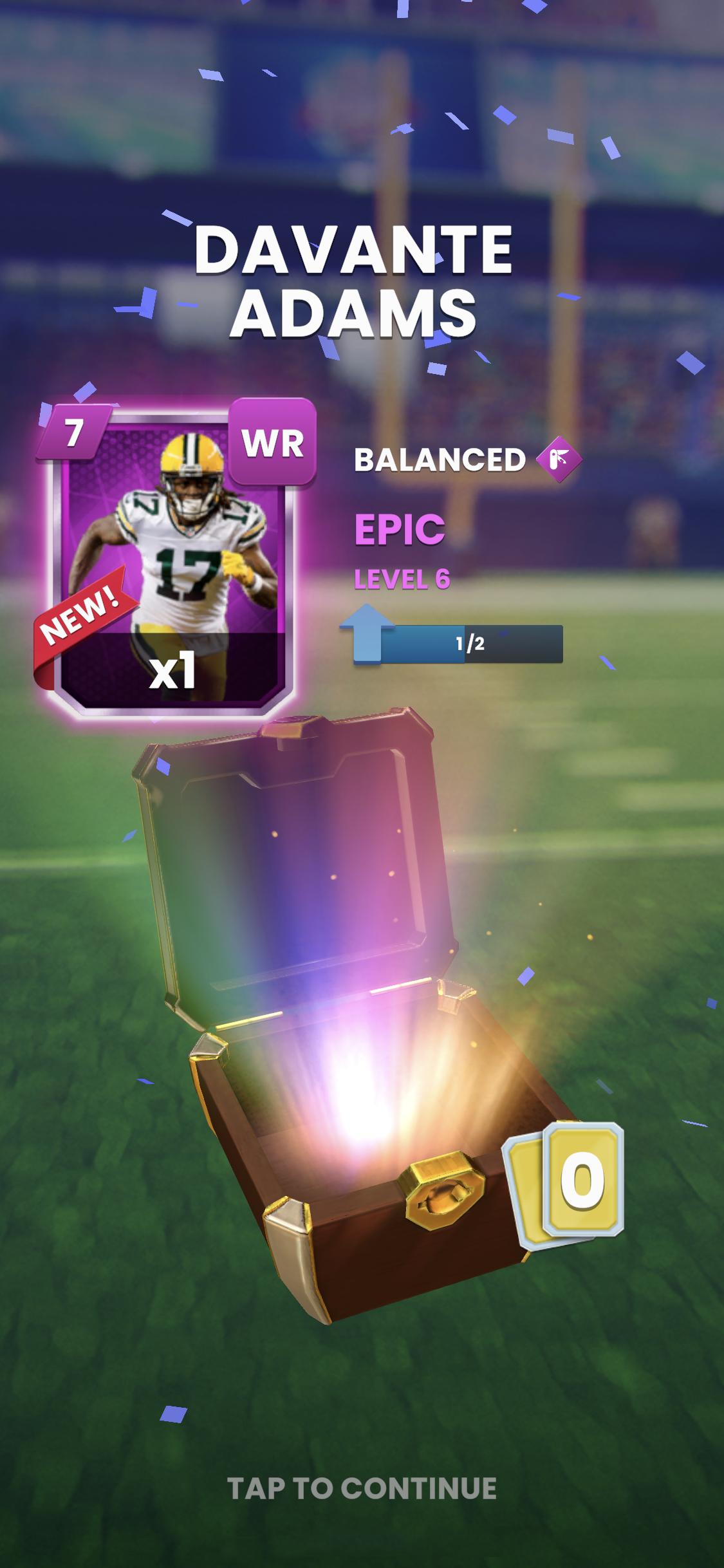 NFL-Clash-Davante-Adams-Reward