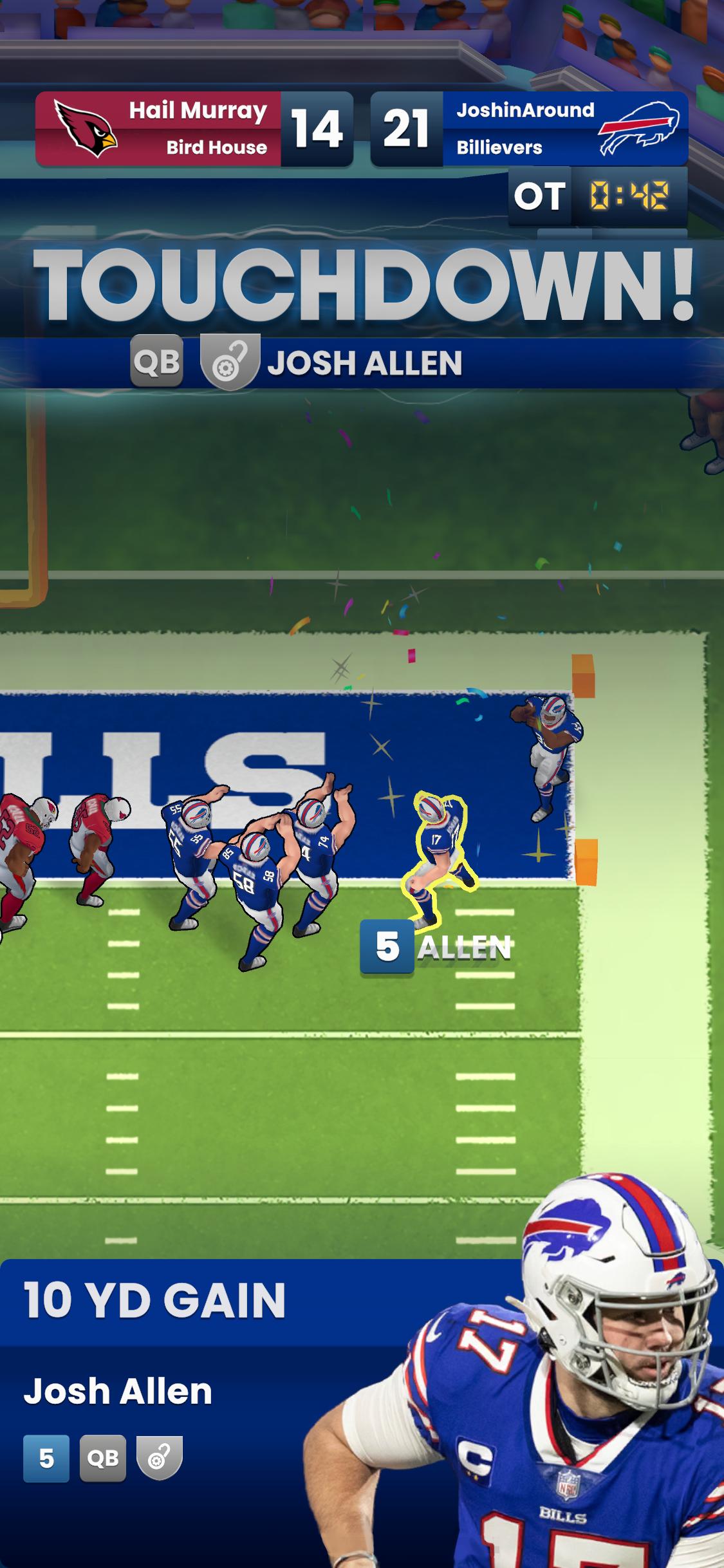 NFL-Clash-Josh-Allen-TD