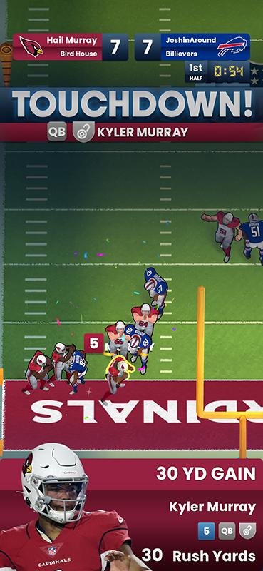 NFL-Clash-Kyler-Murray-TD