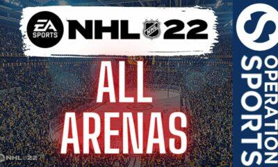 NHL 22 next-gen arenas