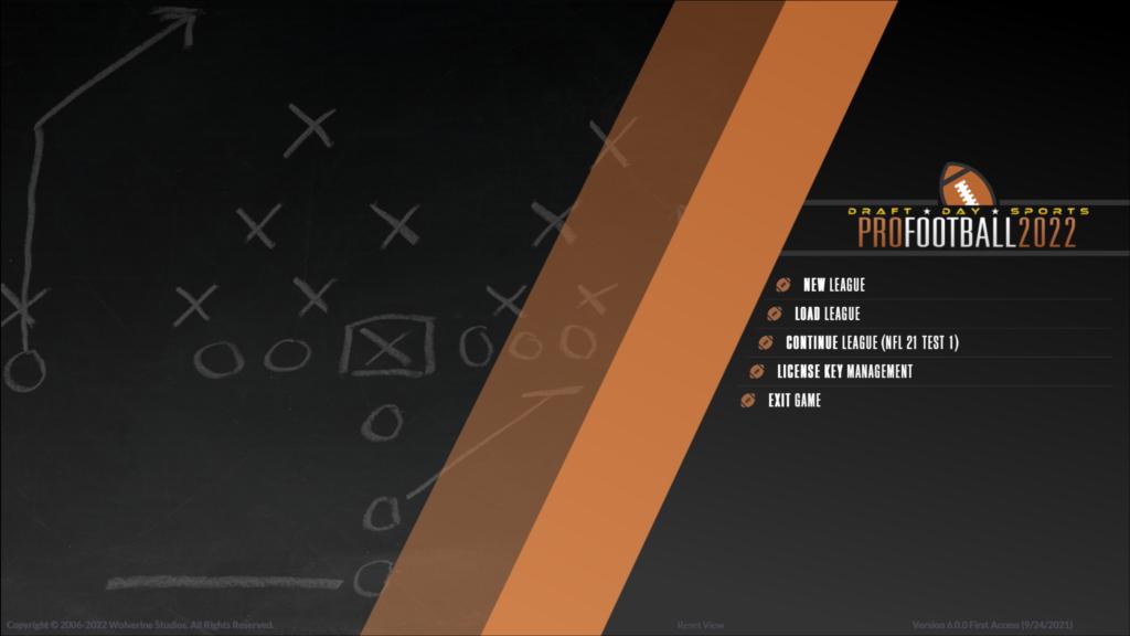Draft Day Sports Pro Football 22