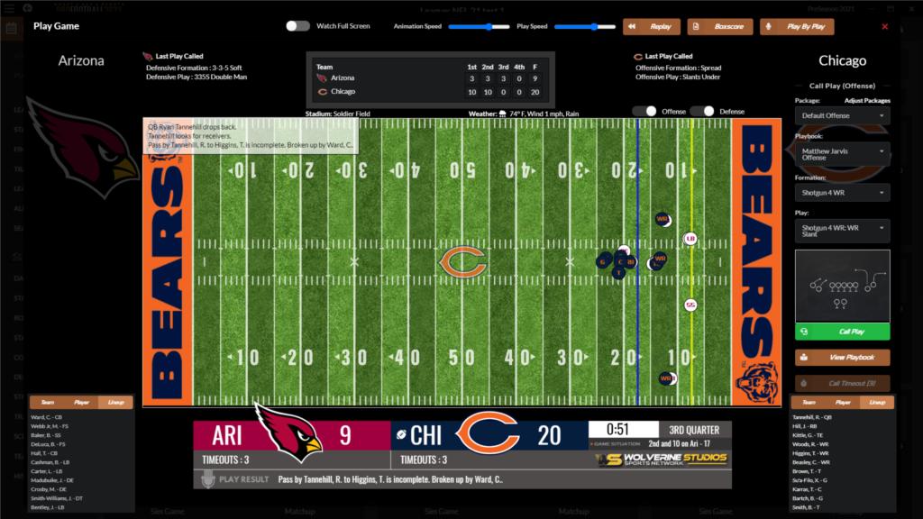 Draft Day Sports: Pro Football 22 NFL mod